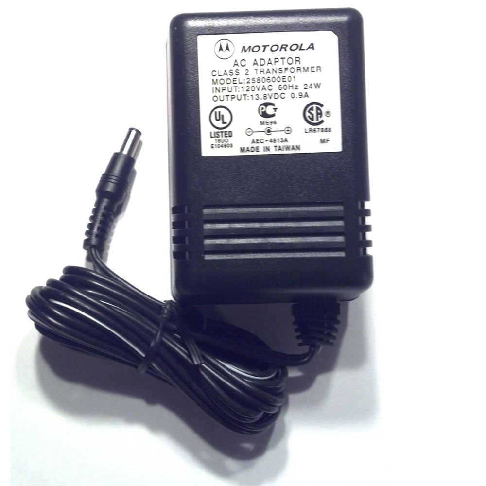 Motorola 2580600e01 Transformer For Rapid Charger
